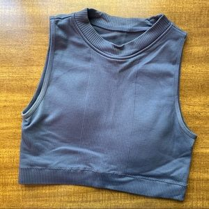 Periwinkle Cropped Top